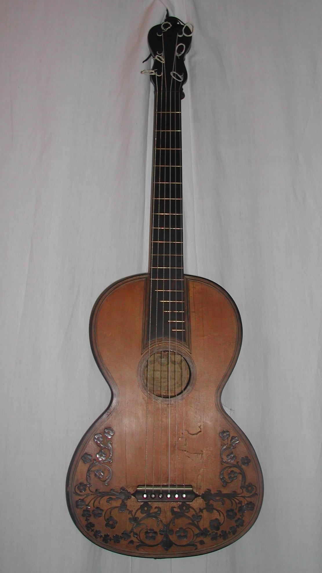 chitarra originale Gennaro Fabricatore (1810 - 1845) – Napoli 1810/20 ca.