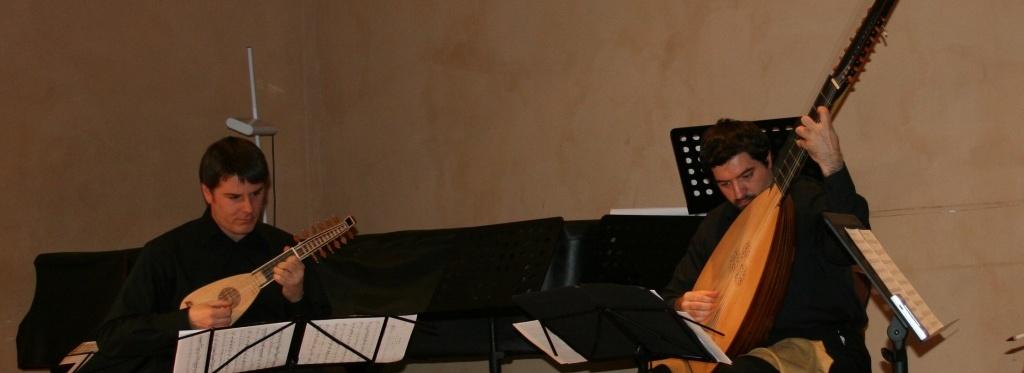 mandolino e tiorba per Home